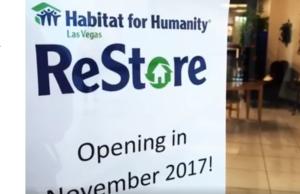 Habitat for Humanity Las Vegas Opens Furniture ReStore in Boulevard Mall