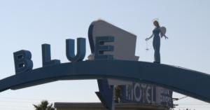 The Blue Angel is focus of exhibit at Neon Museum's NE10 Studio