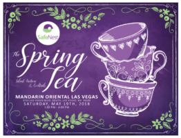 SafeNest's 7th Annual Spring Tea Dedicated to Ending Domestic Violence