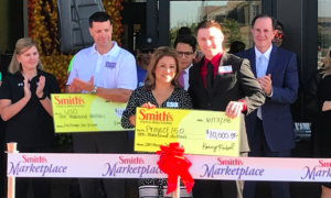 Smith's opens new Marketplace Store and donates $40K to nonprofits