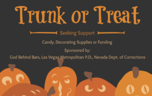 First Ever Trunk or Treat Event Hopes to End Generational Incarceration