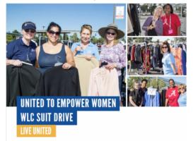Women's Leadership Council Suit Drive, November 2, 2018