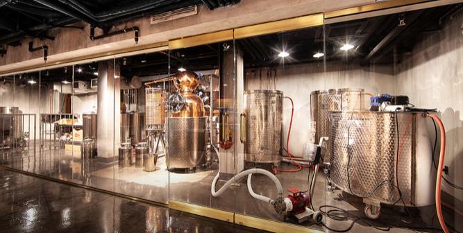 Underground Distillery