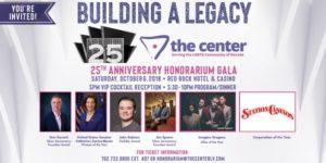 The Center Hosts Honorarium Gala, October 6, 2018