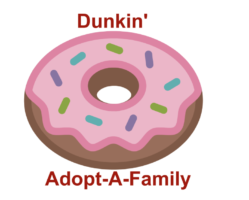 Dunkin' Holds 'Adopt-A-Family' Drive to Benefit Nevada Childhood Cancer Foundation