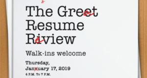 "Free Resume Help at ""The Great Resume Review"" at West Las Vegas Library"