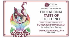 Educational Taste of Excellence: Wine Tasting, Spirits & Jazz