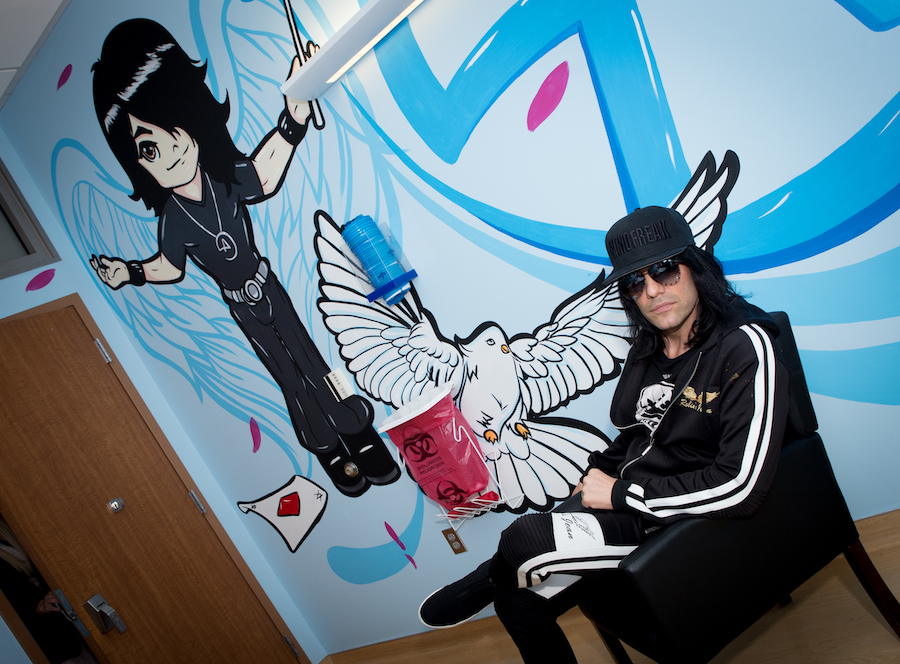 Criss Angel-inspired patient exam room Cure 4 The Kids Foundation 2