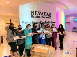 thumbnail_Nevada Health Center mask donation