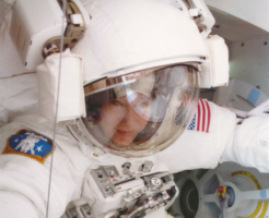 Susan Helms, the first U.S. military woman in space, is keynote speaker at STEAM Career Conference on November 7th