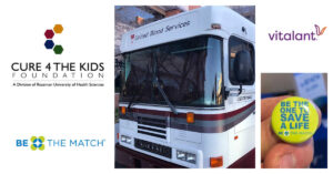"""Cure 4 The Kids Foundation, Vitalant and Be The Match Announce """"Find It In Your Heart To Donate"""" Event on Friday, February 12"""
