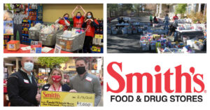 8 tons of food donated to Ronald McDonald House by Smith's Shoppers
