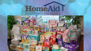 S. Nevada Homebuilders Donate Thousands Worth of Baby Supplies