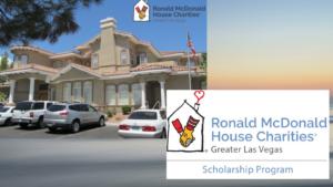 Ronald McDonald House Of Las Vegas Awards $163K In Scholarships