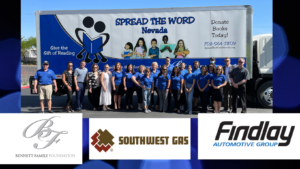 Spread the Word Nevada receives new delivery truck