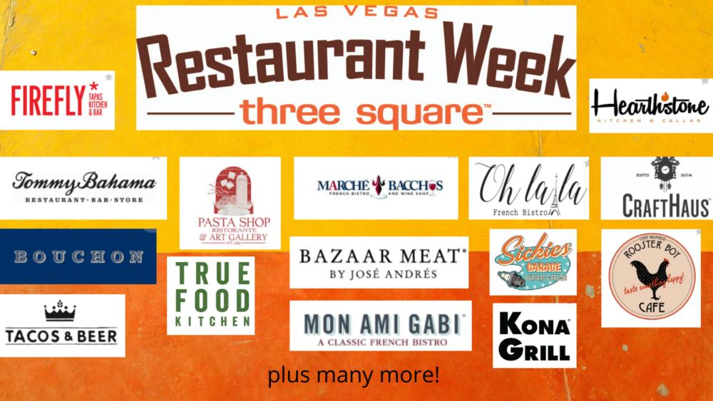 Three Square's Las Vegas Restaurant Week Returns June 7-18!