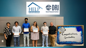 HELP of Southern Nevada and Desert Research Institute Honor Graduates of the 2021 STEM Force Class