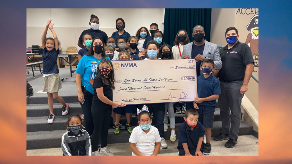 Nevada Mining Association Supports After-School All-Stars through Hope for Heat Campaign
